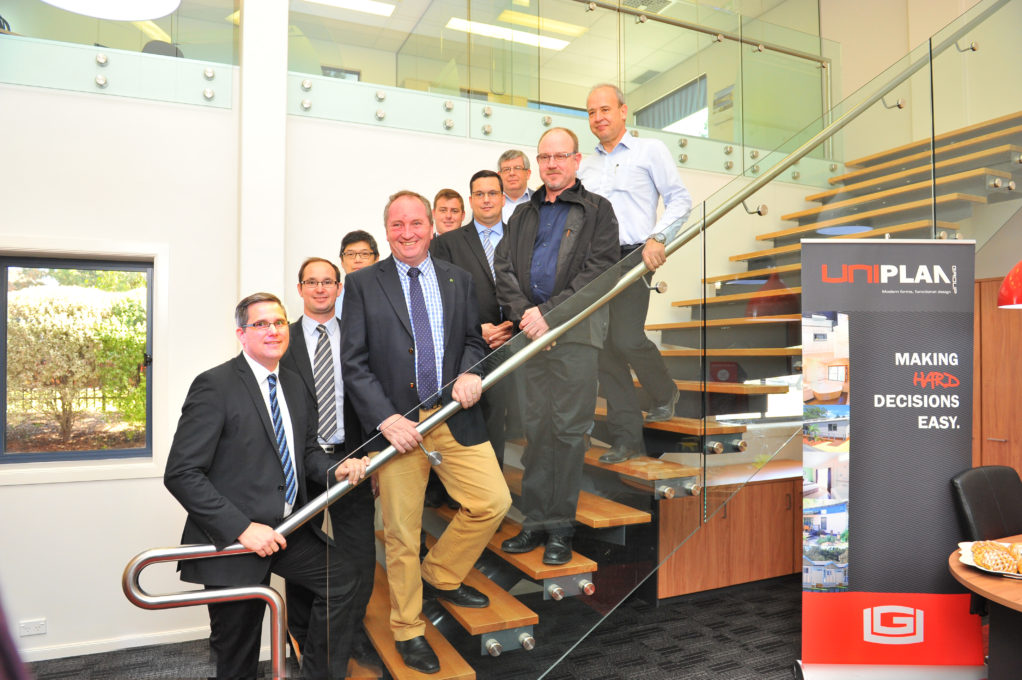 Visit from the Acting Prime Minister Barnaby Joyce